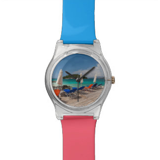 Albanian Riviera, Ksamil, town beachfront Watches