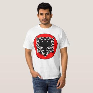 Albanian Round Design T-Shirt