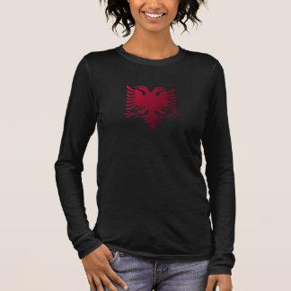 Albanian two-headed eagle long sleeve T-Shirt