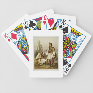 Albanians, mercenaries in the Ottoman army, pub. b Bicycle Playing Cards