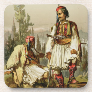 Albanians, mercenaries in the Ottoman army, pub. b Coaster