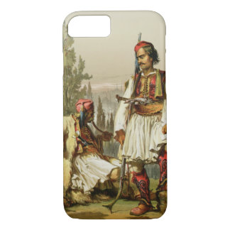 Albanians, mercenaries in the Ottoman army, pub. b iPhone 8/7 Case