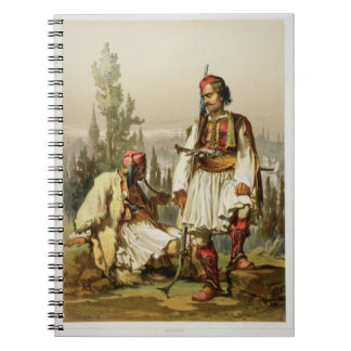 Albanians, mercenaries in the Ottoman army, pub. b Spiral Notebook