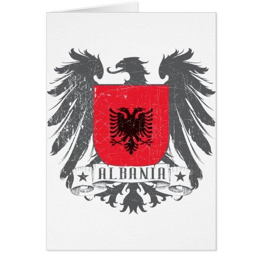 albaniashield card