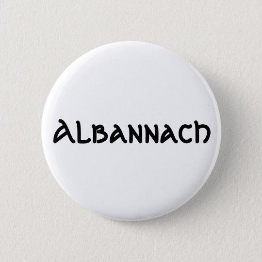 Albannach Pinback Button Badge
