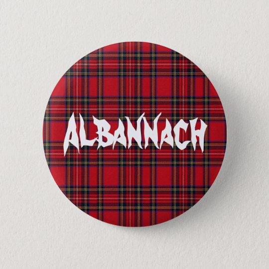 Albannach Tartan Button Badge