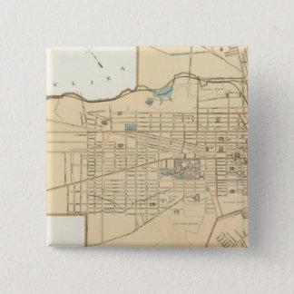 Albany 15 Cm Square Badge