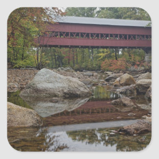 Albany Bridge, just off the Kancamagus Square Sticker