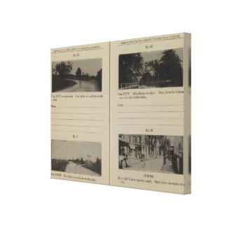 Albany Cohoes Canvas Print
