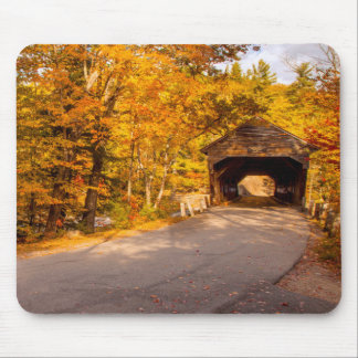 Albany Covered Bridge Near Conway Mouse Pad