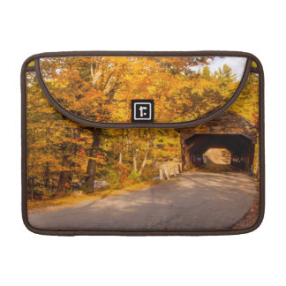 Albany Covered Bridge Near Conway Sleeve For MacBook Pro