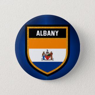 Albany Flag 6 Cm Round Badge