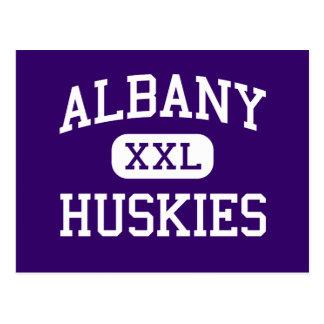 Albany - Huskies - Senior - Albany Minnesota Postcard