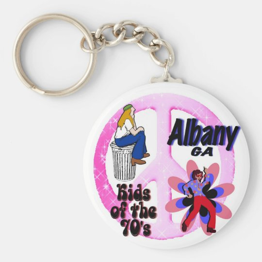 Albany Kids of the 70's keychain