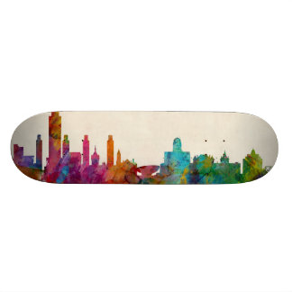 Albany New York Skyline Skate Decks