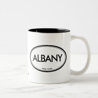 Albany, New York Two-Tone Mug