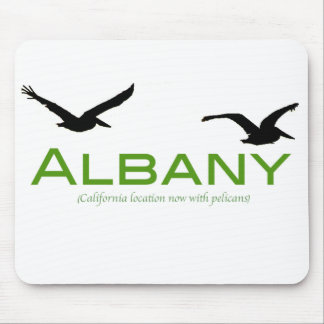 Albany, now with pelicans mouse mat