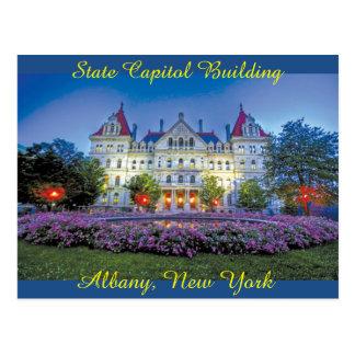 Albany, NY Capitol Building Postcard