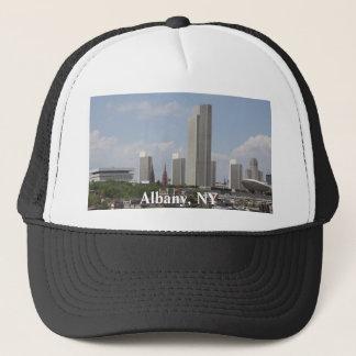 Albany NY skyline Trucker Hat