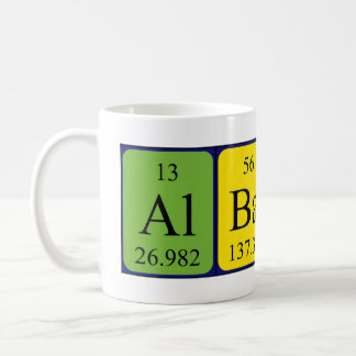 Albany periodic table name mug