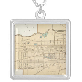 Albany Silver Plated Necklace