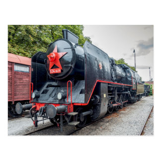"""Albatros"" steam 1955, Skoda made, Bratislava. Postcard"