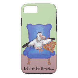 Albatross Illustration iPhone 8/7 Case