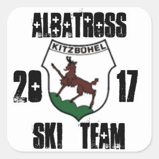 Albatross kitzbuhel 2017 v2 square sticker
