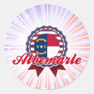 Albemarle, NC Stickers