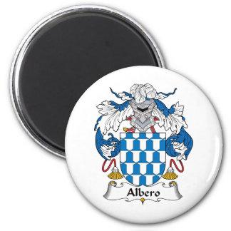 Albero Family Crest 6 Cm Round Magnet