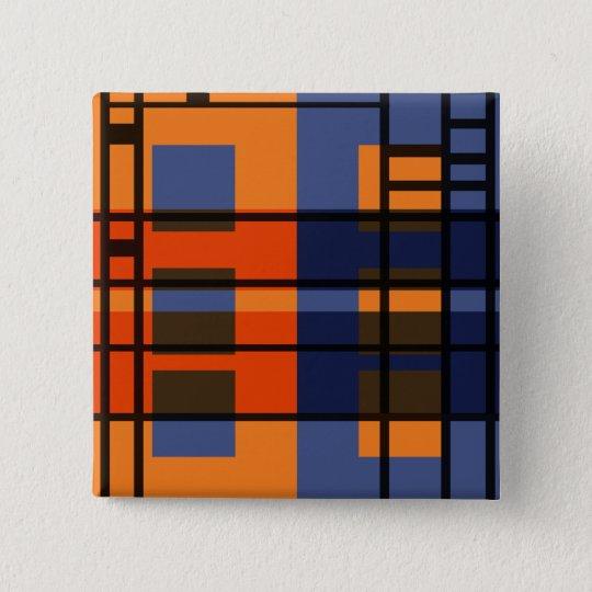 Albers & Mondrian 15 Cm Square Badge