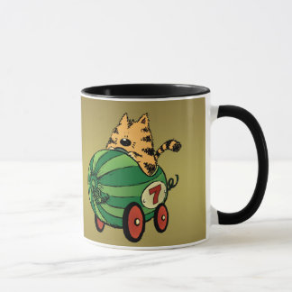 Albert and his watermelon ride mug
