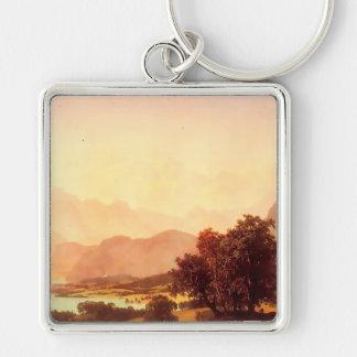 Albert Bierstadt Bernese Alps 1859 Keychain