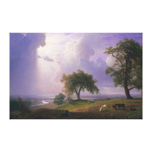 Albert Bierstadt California Spring Canvas Print