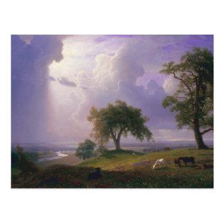 Albert Bierstadt - California Spring Postcard