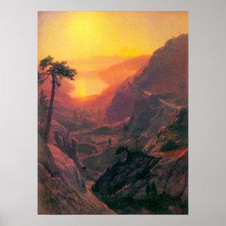 Albert Bierstadt-Donner Lake Poster