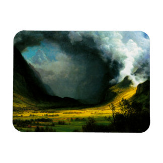 Albert Bierstadt Storm in The Mountains Magnet