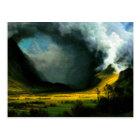 Albert Bierstadt Storm in The Mountains Postcard