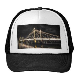 Albert Bridge crosses the River Thames, London Cap