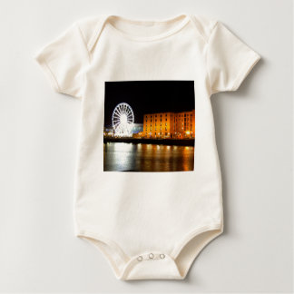 Albert dock Complex, Liverpool UK Baby Bodysuit