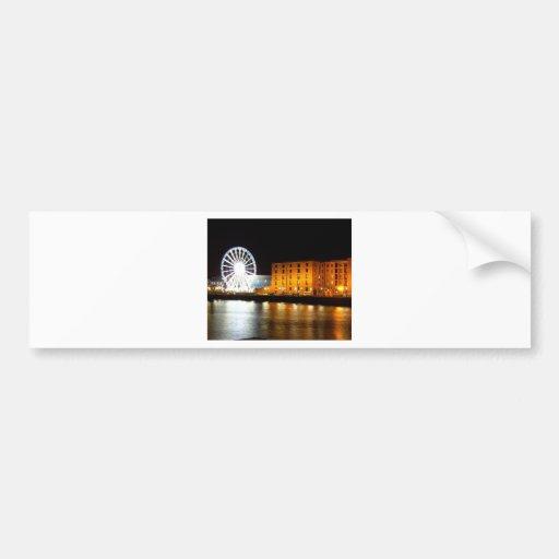 Albert dock Complex, Liverpool UK Bumper Sticker