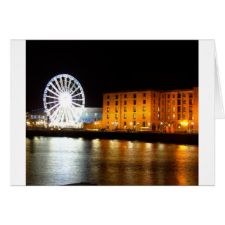 Albert dock Complex, Liverpool UK Card