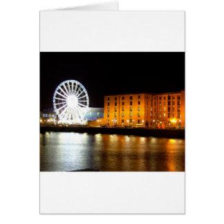 Albert dock Complex, Liverpool UK Card