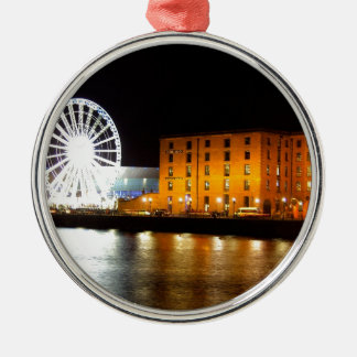 Albert dock Complex, Liverpool UK Christmas Ornament