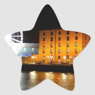 Albert dock Complex, Liverpool UK Star Sticker