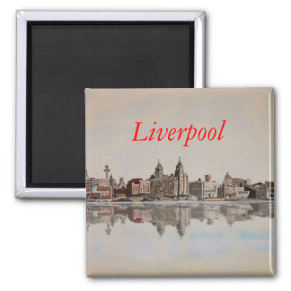 Albert Dock - Fridge Magnet