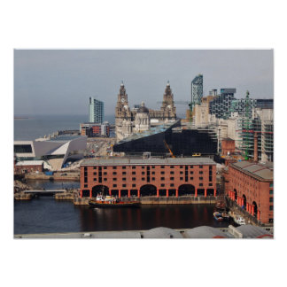 Albert Dock - Liverpool Poster