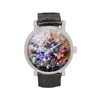 Albert Dürer Lucas: Harebells and Centaury Wristwatches