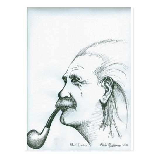 Albert Einstein.jpg Postcard