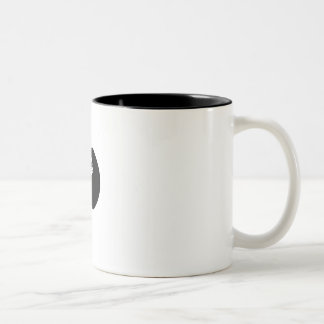 Albert Einstein - mug! Two-Tone Coffee Mug